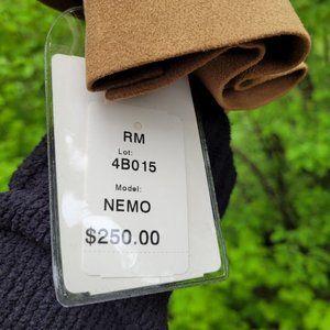 NWT Andrew Fezza Poly Suede Suit Jacket Blazer 44